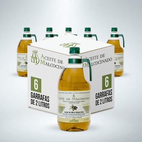 Aceite de Oliva Virgen Extra Caja 6x2l